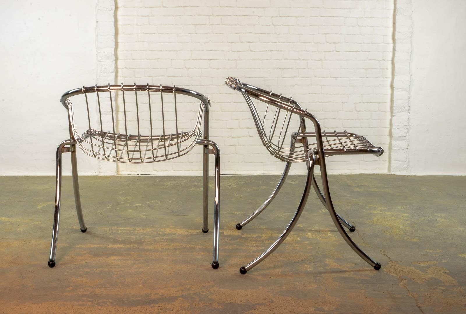 italienische vintage lynn esszimmer st hle von gastone rinaldi f r rima bei pamono kaufen. Black Bedroom Furniture Sets. Home Design Ideas