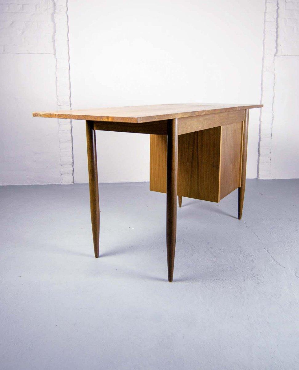 ausziehbarer schreibtisch von arne vodder f r asko 1960er. Black Bedroom Furniture Sets. Home Design Ideas