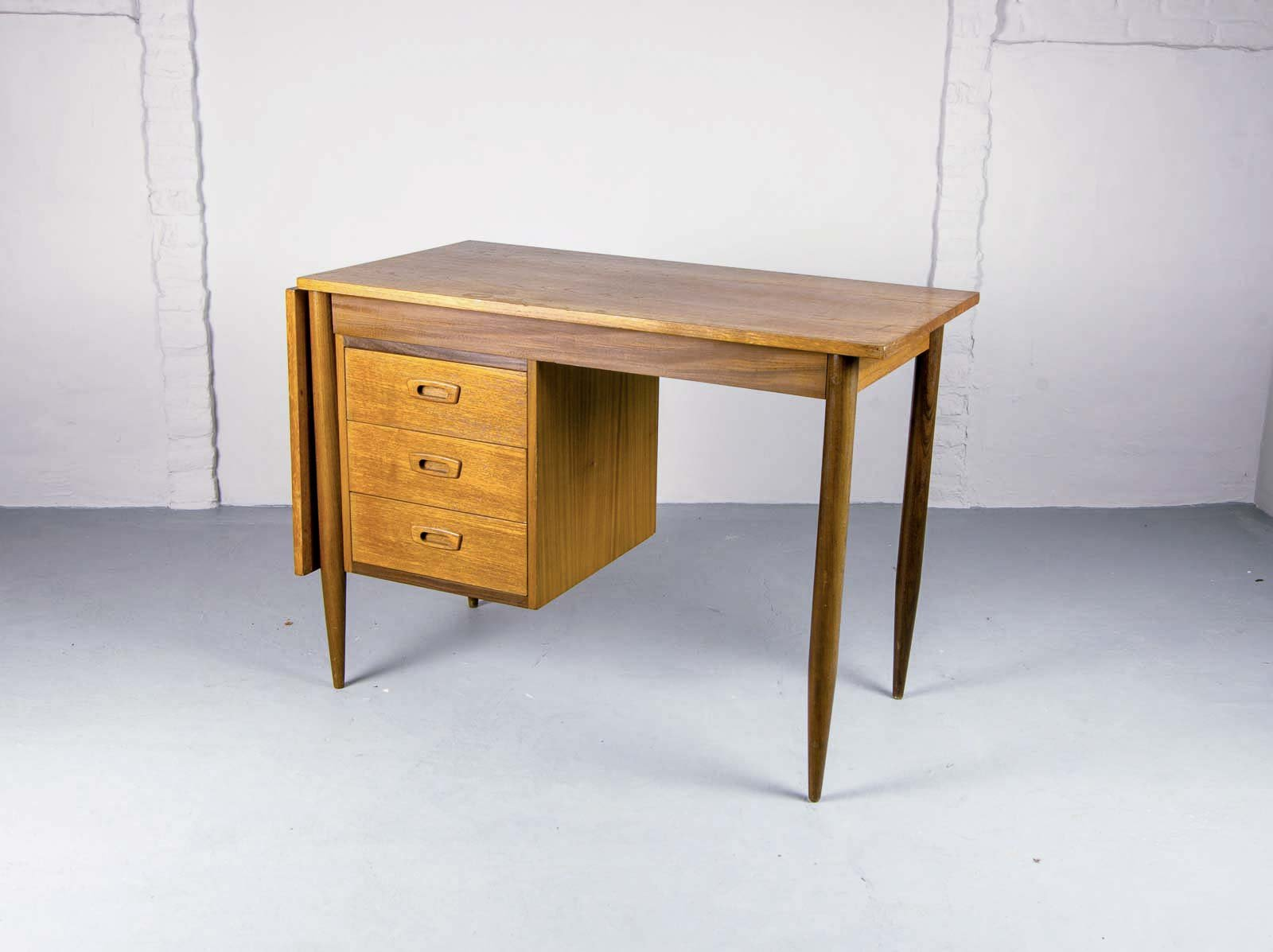 Drop Leaf Desk By Arne Vodder For Asko 1960s For Sale At