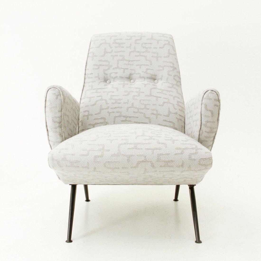 italienische mid century sessel von nino zoncada f r framar 1950er 2er set bei pamono kaufen. Black Bedroom Furniture Sets. Home Design Ideas