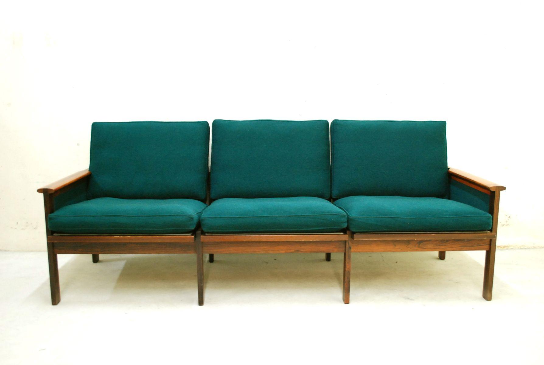vintage capella sofa von illum wikkels f r eilersen bei pamono kaufen. Black Bedroom Furniture Sets. Home Design Ideas
