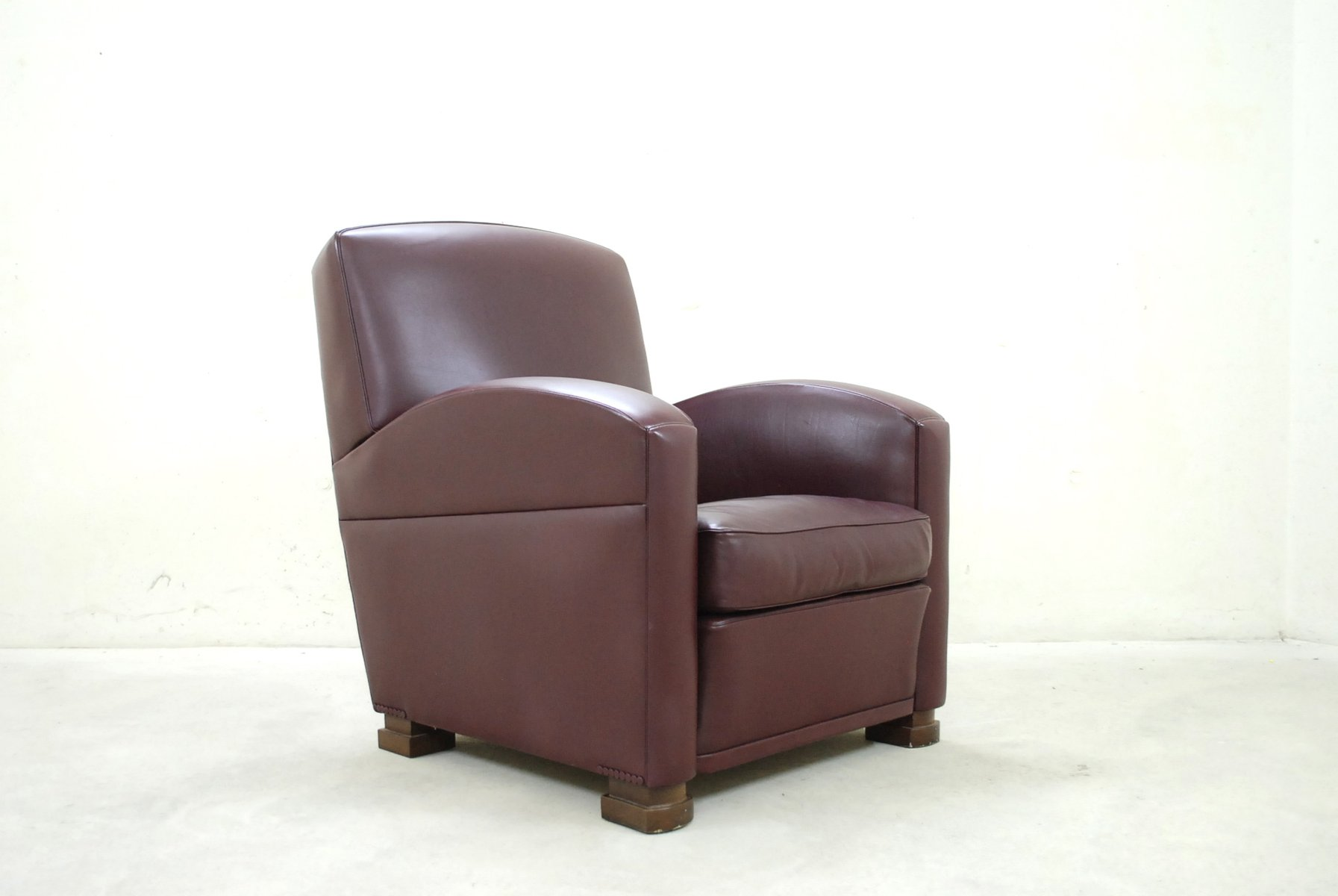 italian tabarin leather armchair from poltrona frau 1989 for sale at pamono. Black Bedroom Furniture Sets. Home Design Ideas
