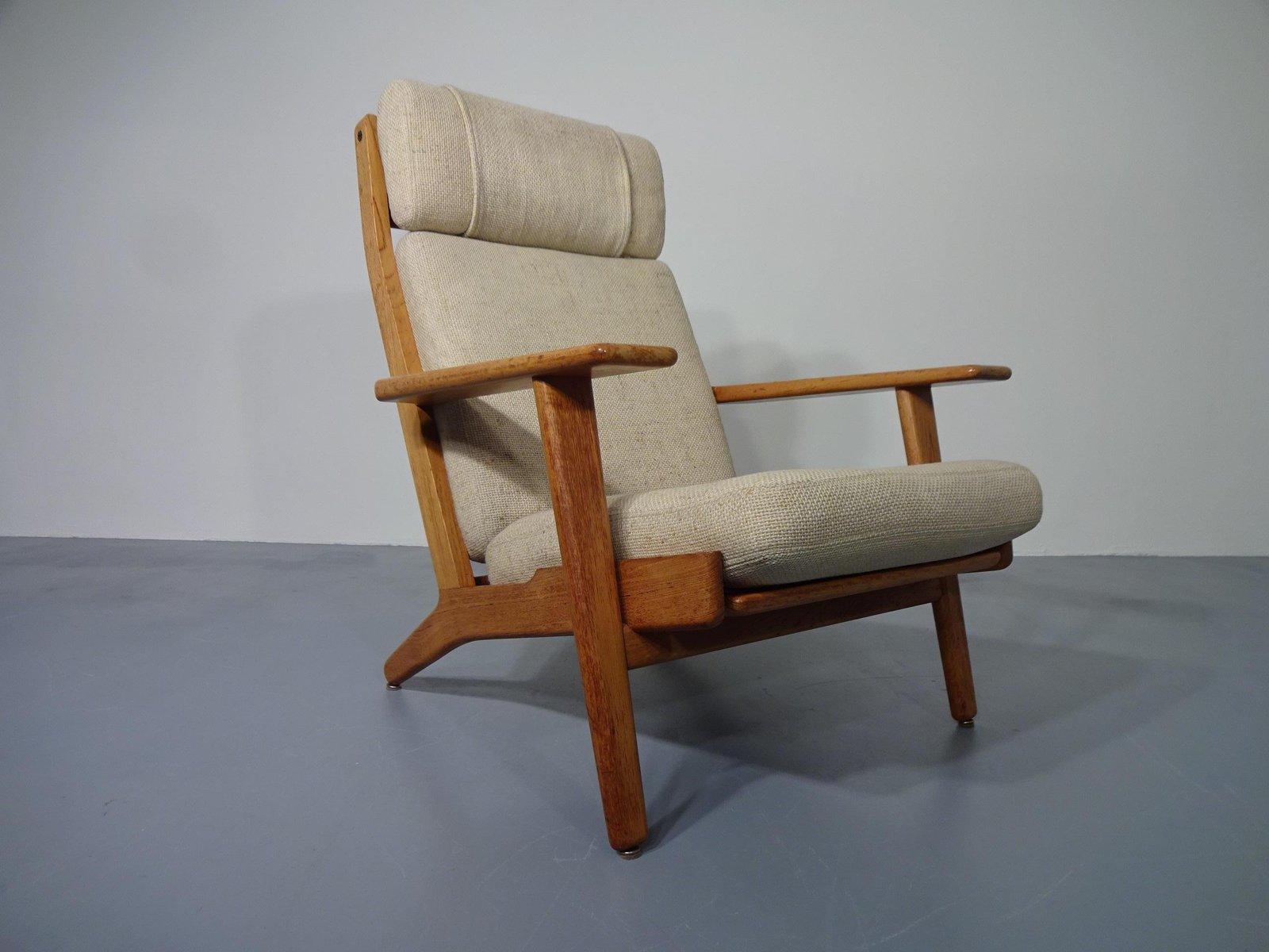 teak ge 290 sessel von hans j wegner f r getama 1960er. Black Bedroom Furniture Sets. Home Design Ideas