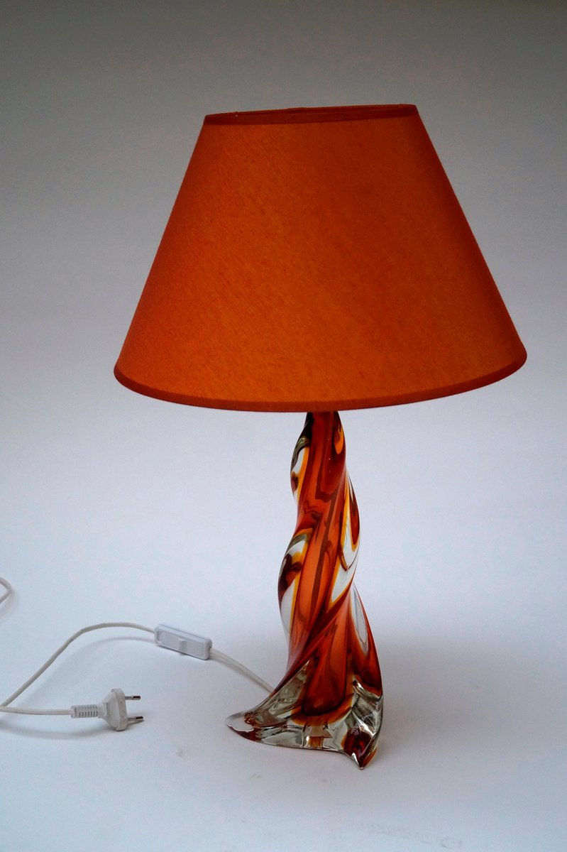 Mid century murano glass table lamp for sale at pamono mid century murano glass table lamp aloadofball Choice Image