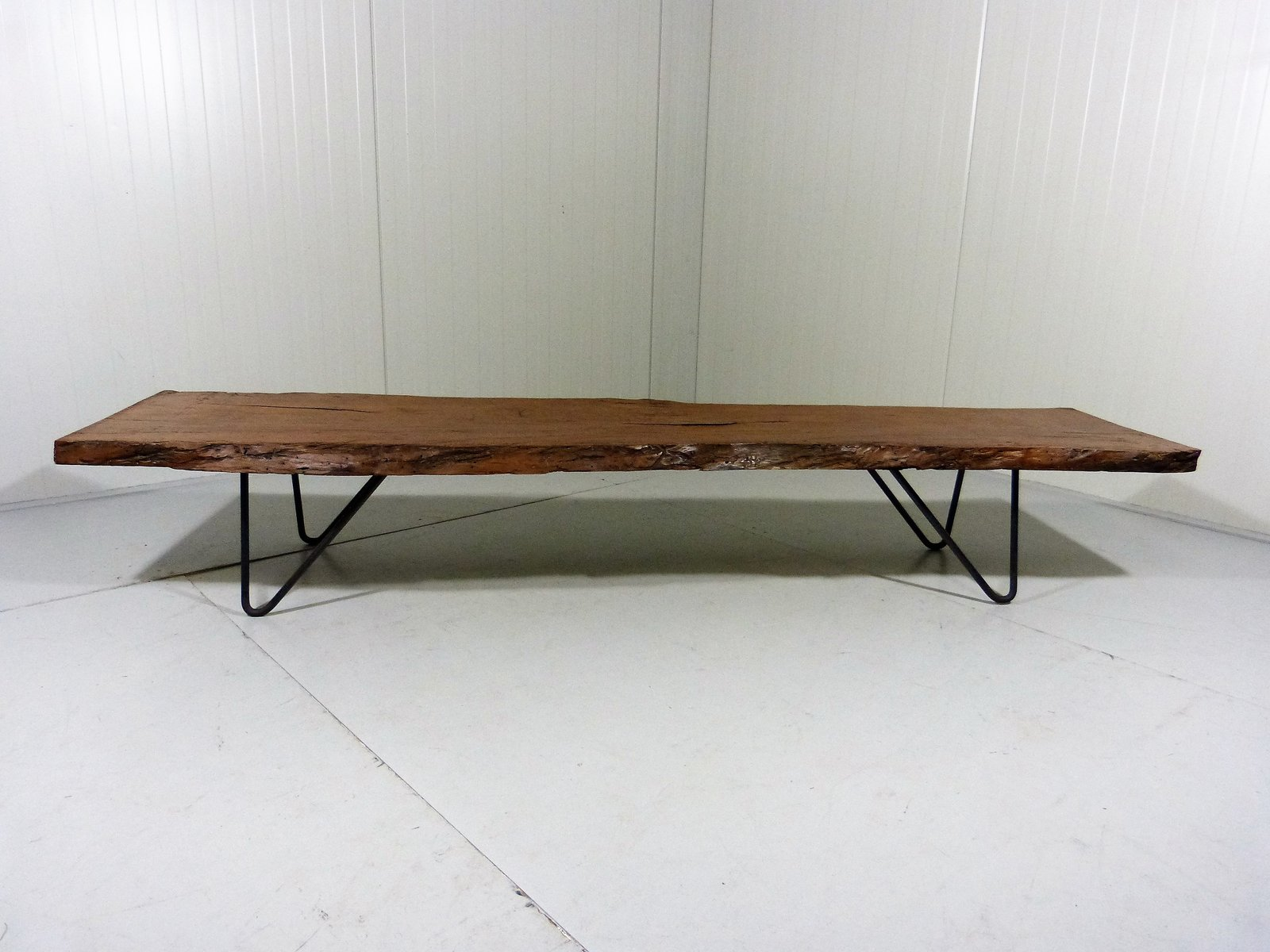 Vintage Up Cycled Large Tree Trunk Coffee Table For Sale At Pamono