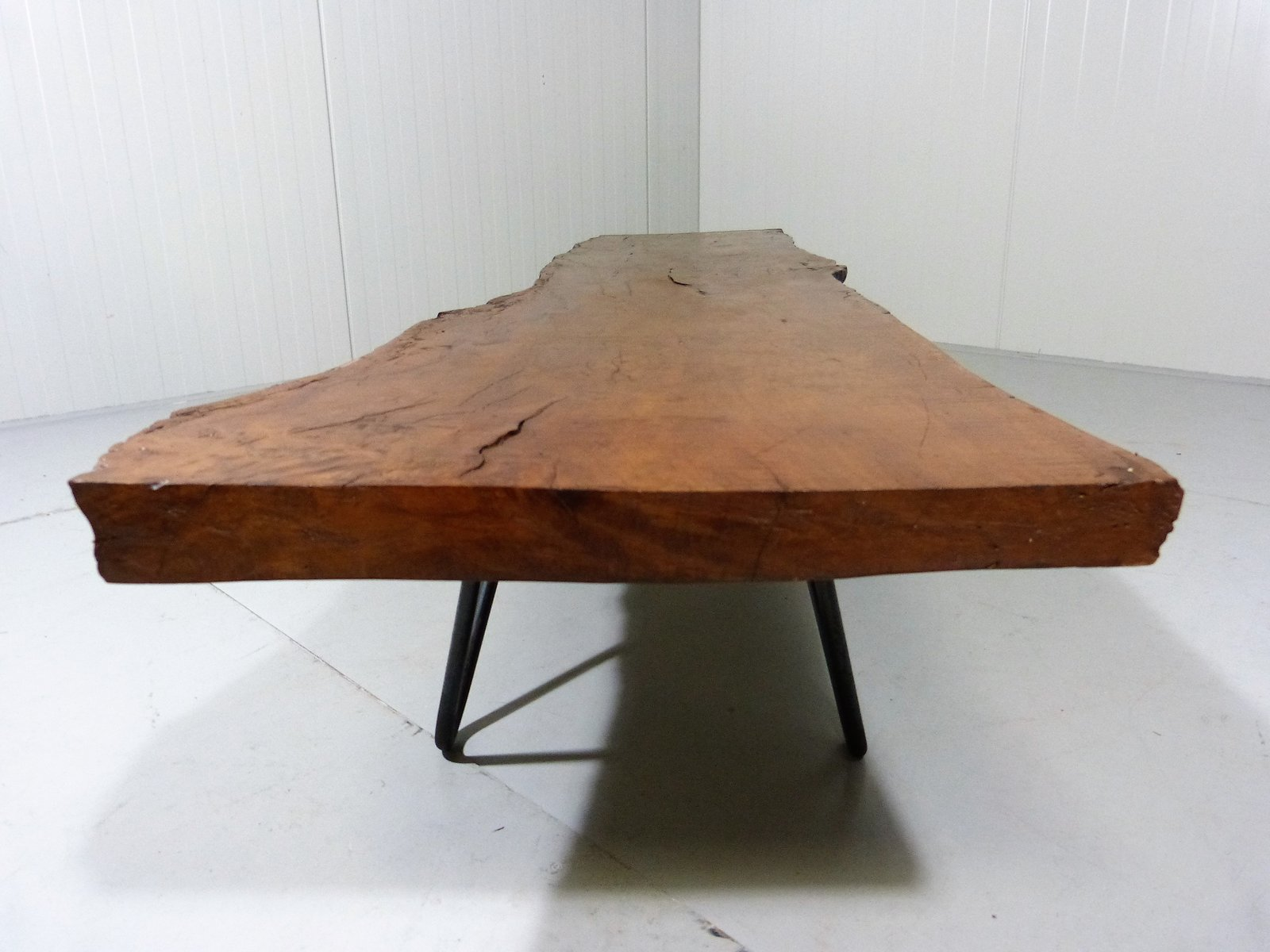 Vintage Up Cycled Tree Trunk Coffee Table for sale at Pamono