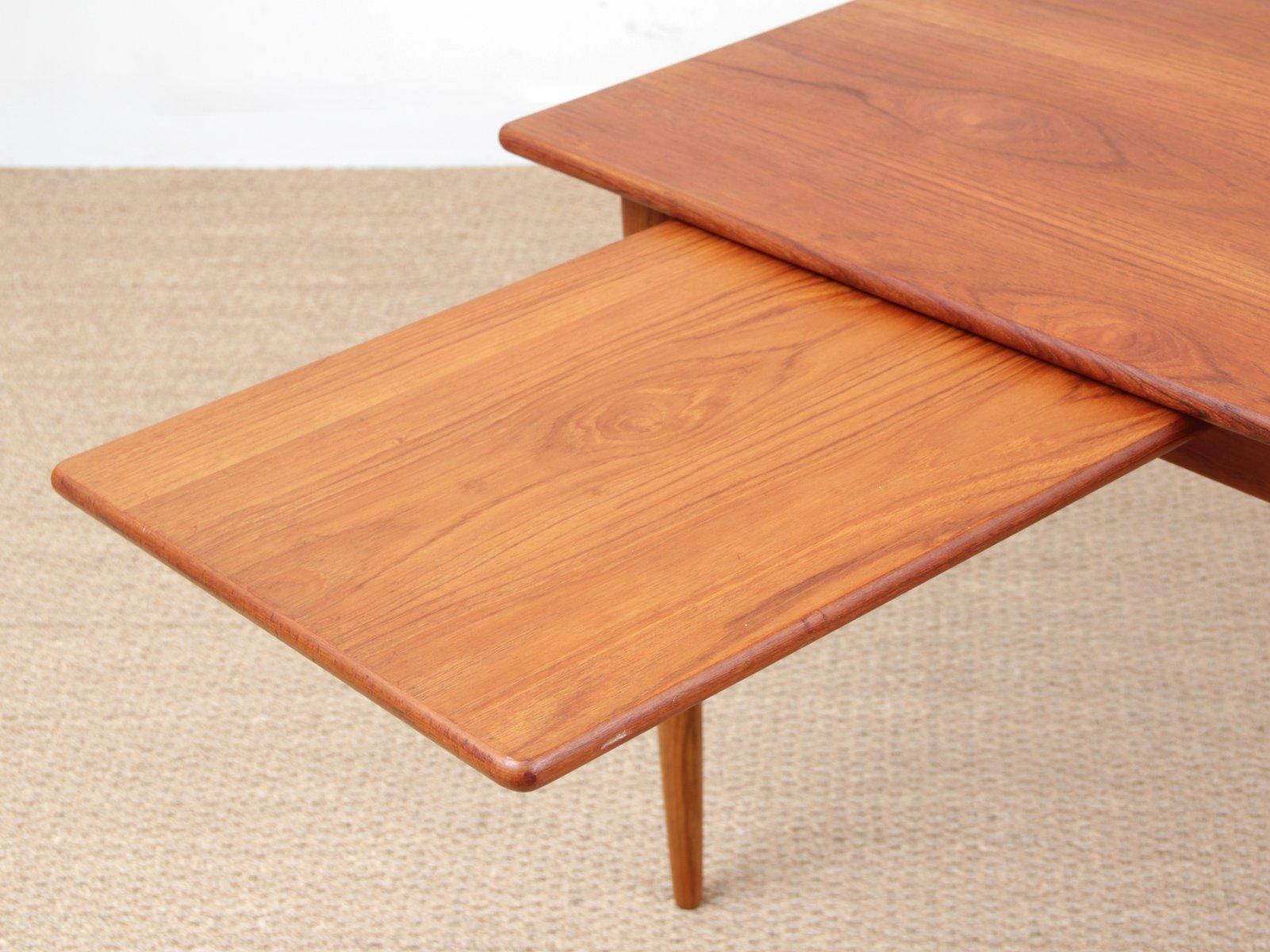 skandinavischer esstisch von yngve ekstr m f r hugo troeds 1950er bei pamono kaufen. Black Bedroom Furniture Sets. Home Design Ideas