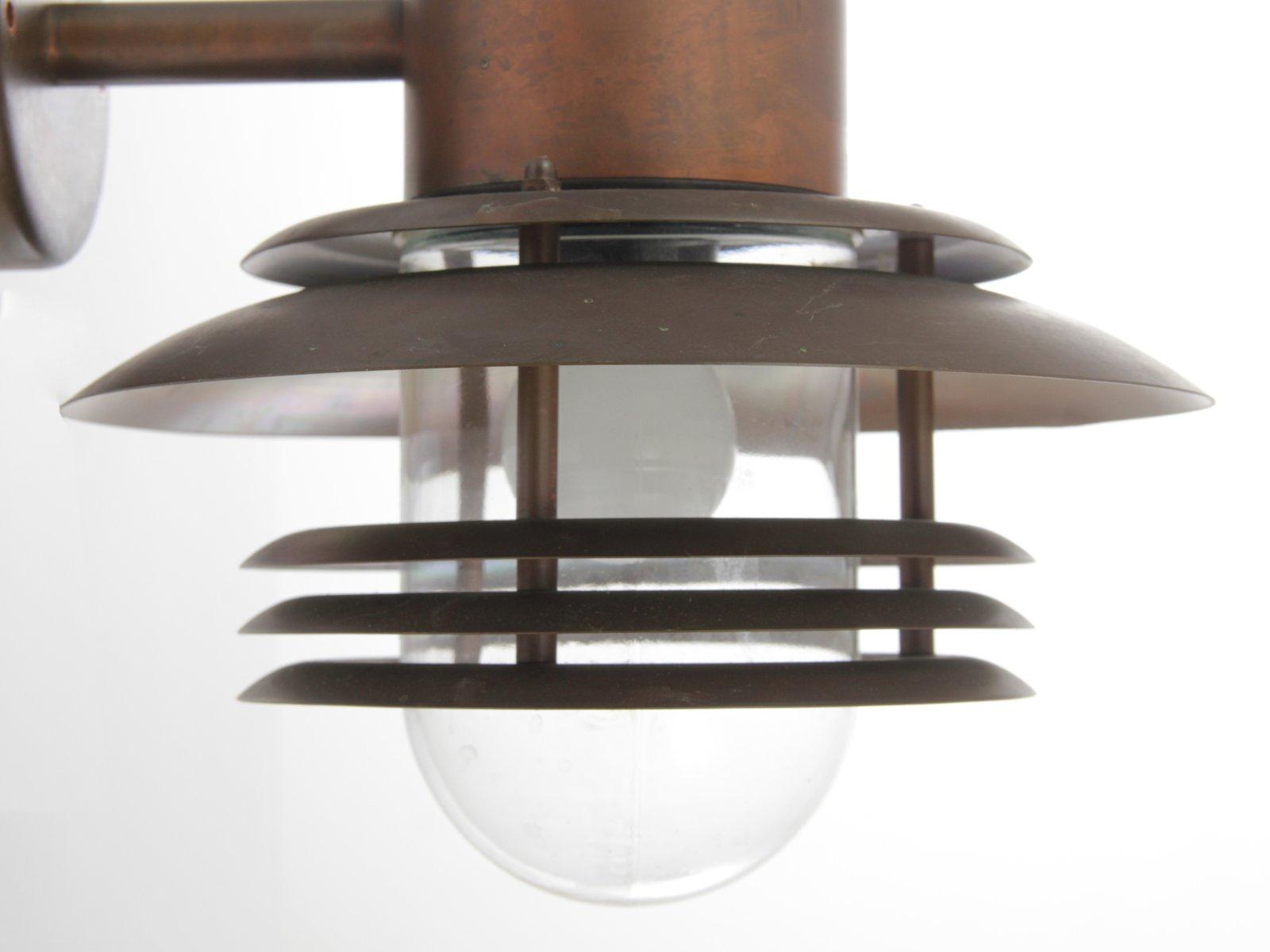 Au en wandlampe aus kupfer 1980er bei pamono kaufen - Aussen wandlampe ...