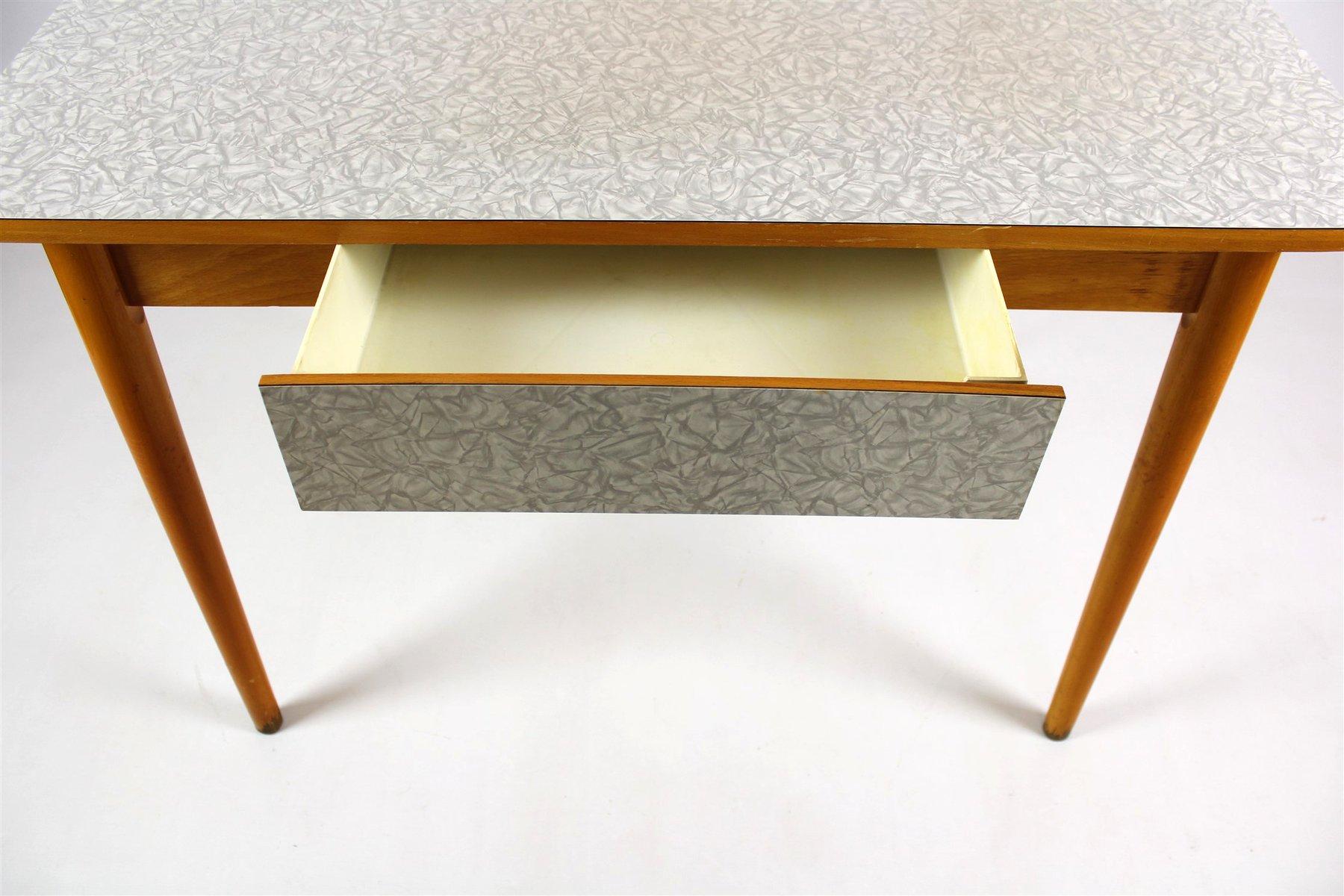 Tavolo da cucina in legno di formica di jitona anni 39 60 for Tavolo legno cucina