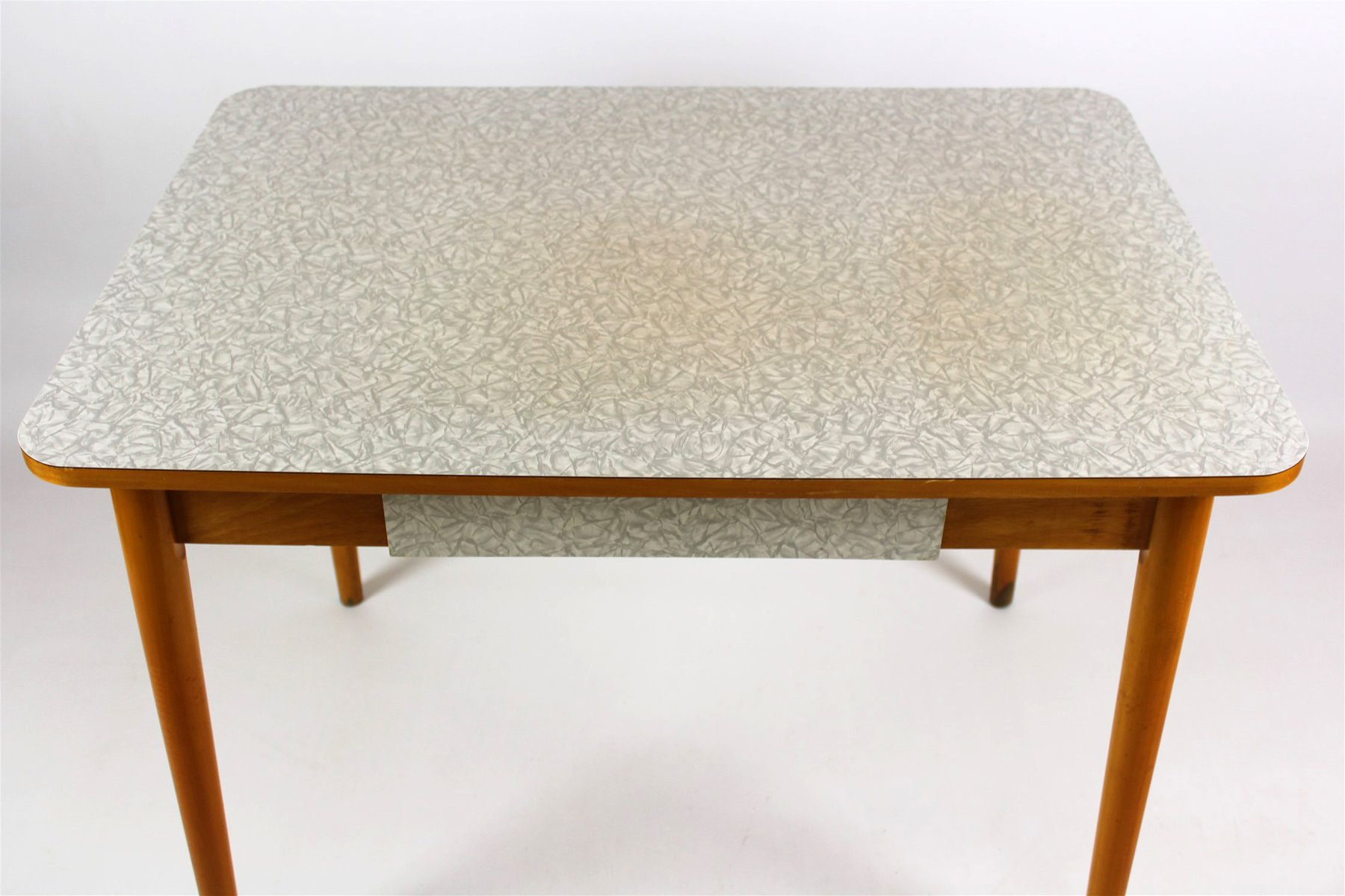 Tavolo da cucina in legno di formica di jitona anni 39 60 - Tavolo di cucina ...