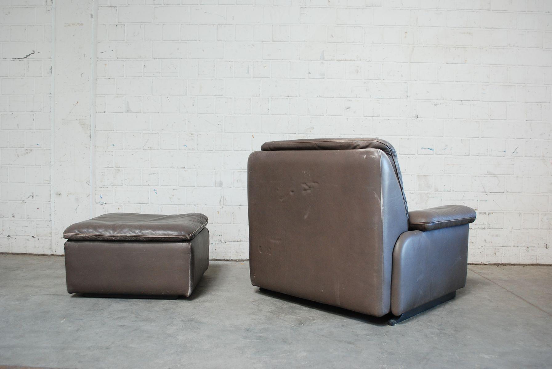 Excelente Cuero Ovalado Muebles Otomana Regalo - Muebles Para Ideas ...