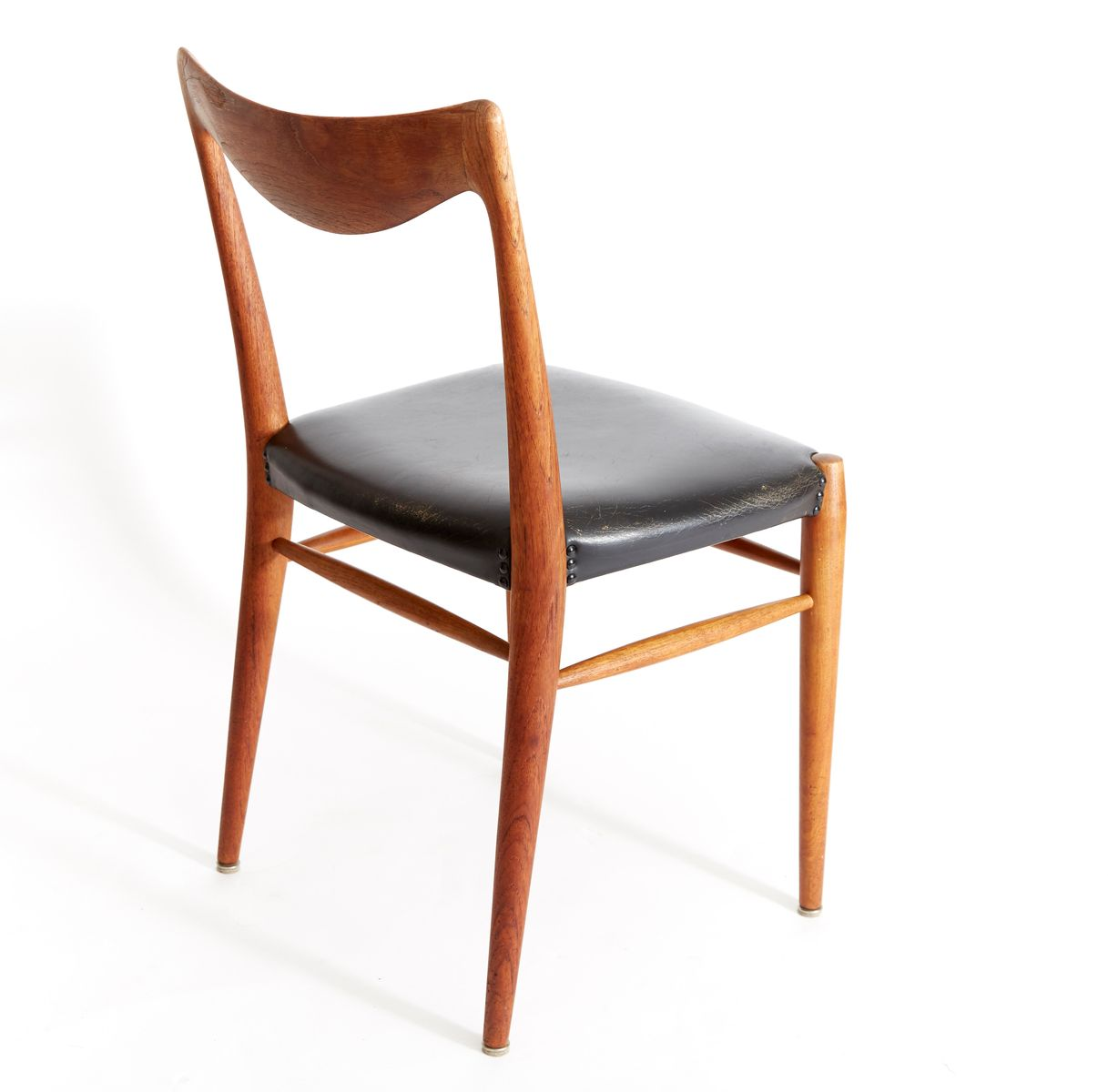 vintage bambi teak esszimmer st hle von rolf rastad. Black Bedroom Furniture Sets. Home Design Ideas