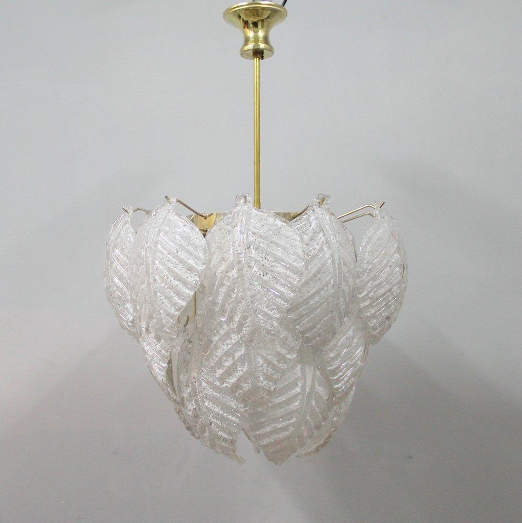 murano glas lampe von mazzega 1970er bei pamono kaufen. Black Bedroom Furniture Sets. Home Design Ideas