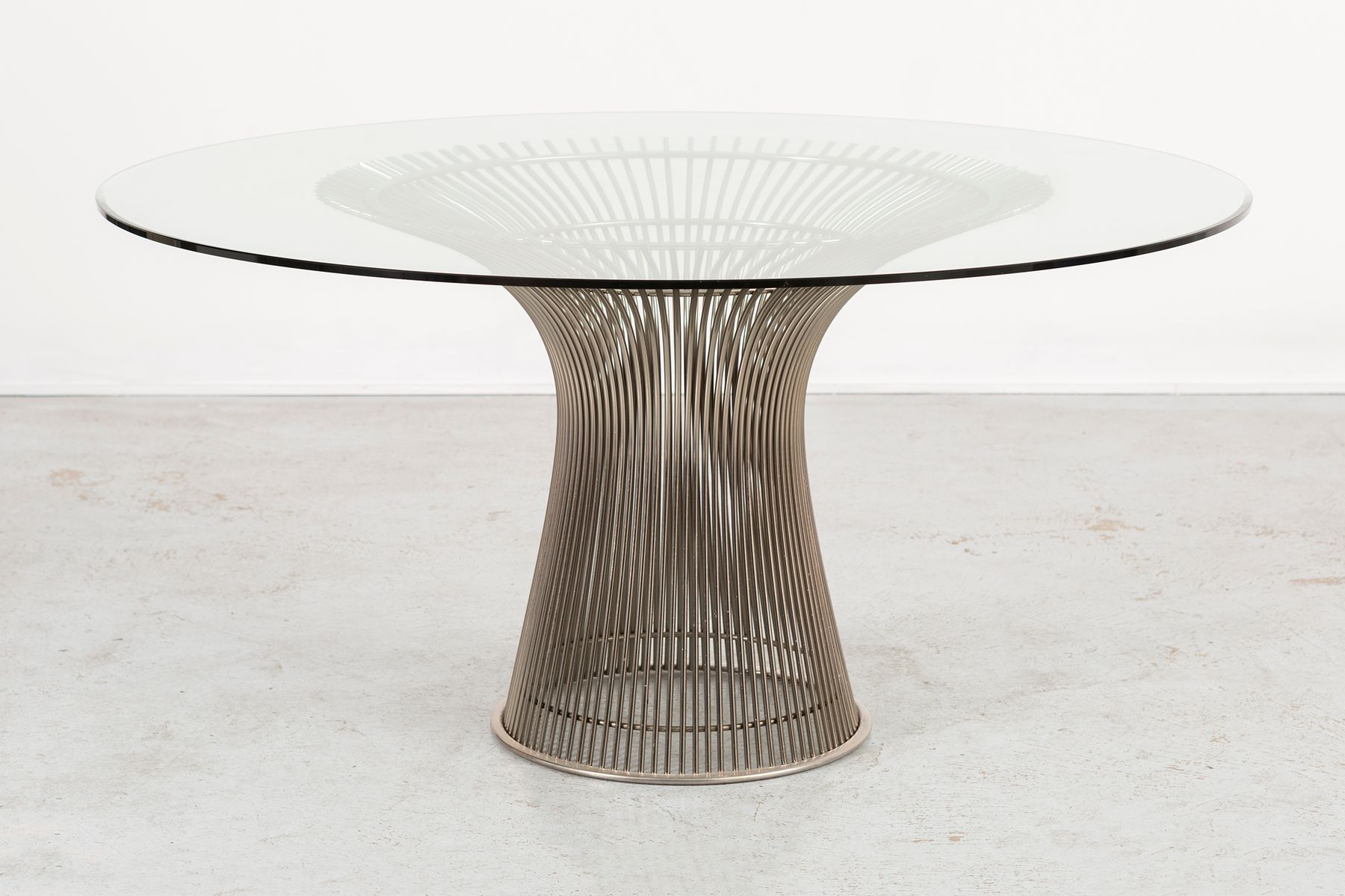 Mid Century Dining Table by Warren Platner for Knoll Inc for sale