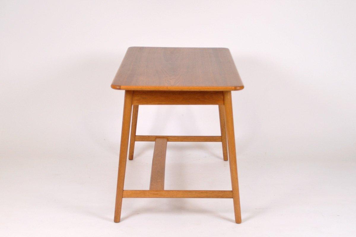 Schreibtisch aus eiche 1960er bei pamono kaufen for Schreibtisch 2 meter lang
