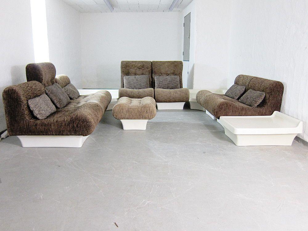 mobilier de salon mod le sofaletten modulaire vintage par