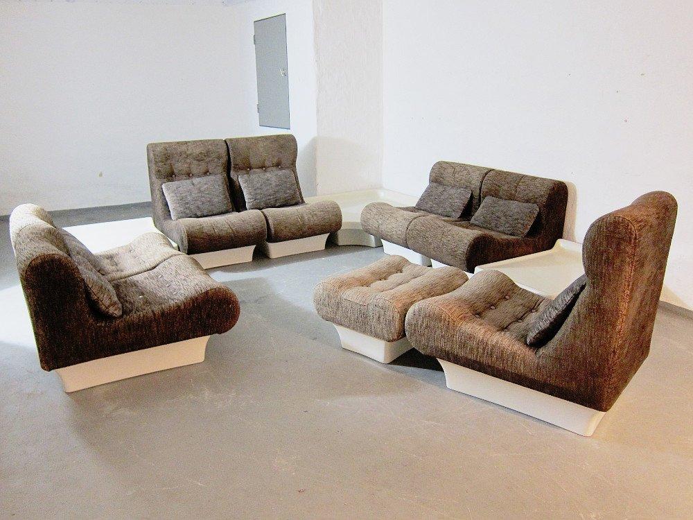 Modulares Vintage Modell Sofaletten Wohnzimmer Set Von Otto Zapf Für Vistoe  Bei Pamono Kaufen