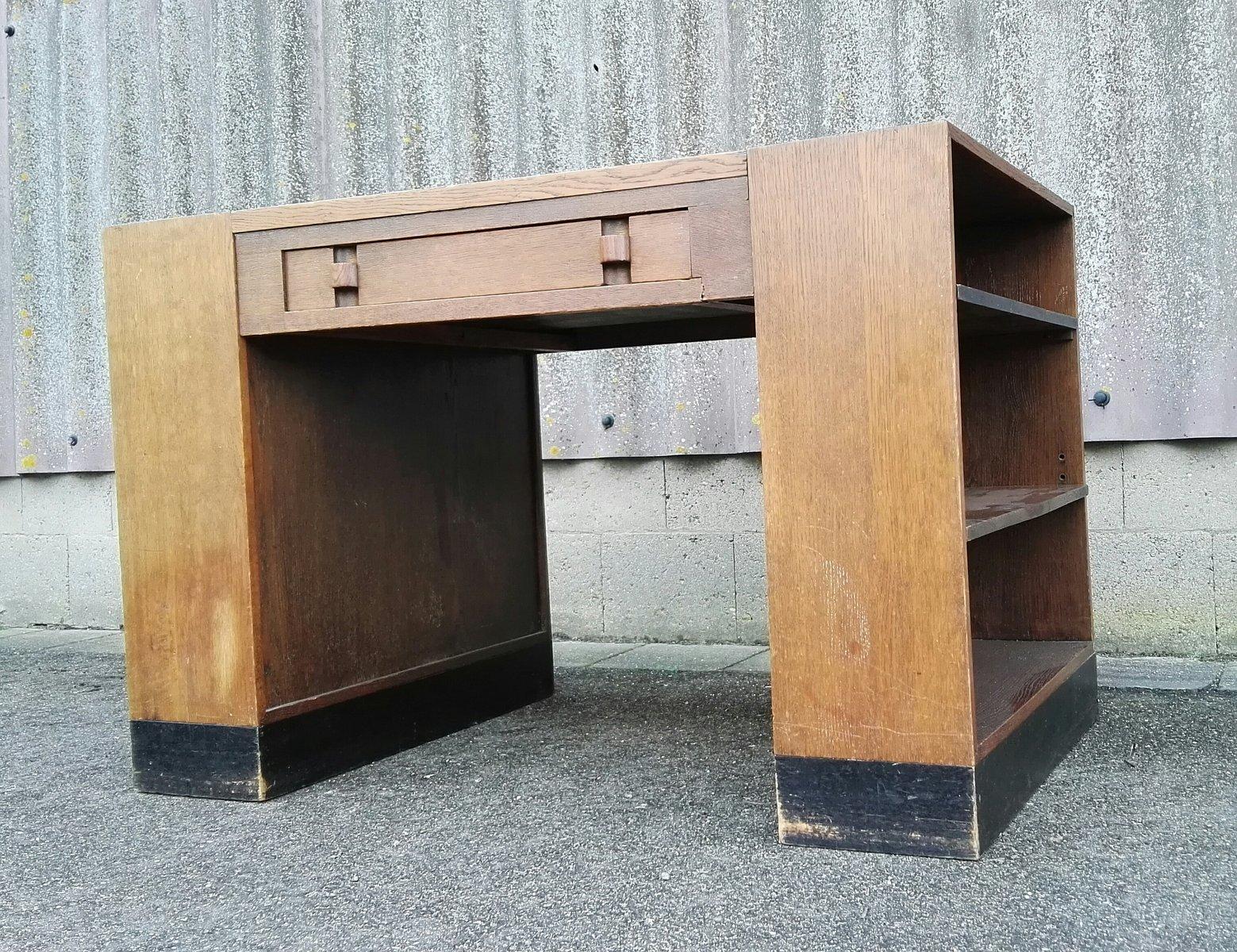 moderner niederl ndischer schreibtisch von willem penaat f r metz co 1925 bei pamono kaufen. Black Bedroom Furniture Sets. Home Design Ideas