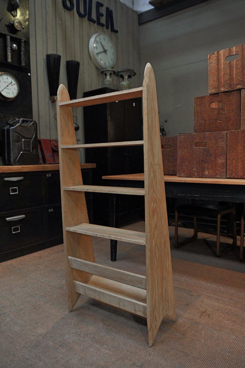 regal system aus massiver eiche von pierre cru ge 1950er. Black Bedroom Furniture Sets. Home Design Ideas