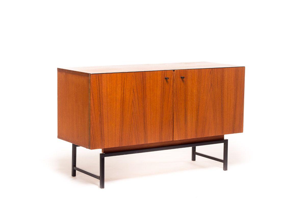 vintage lowboard by kurt gunther horst brechtmann for. Black Bedroom Furniture Sets. Home Design Ideas