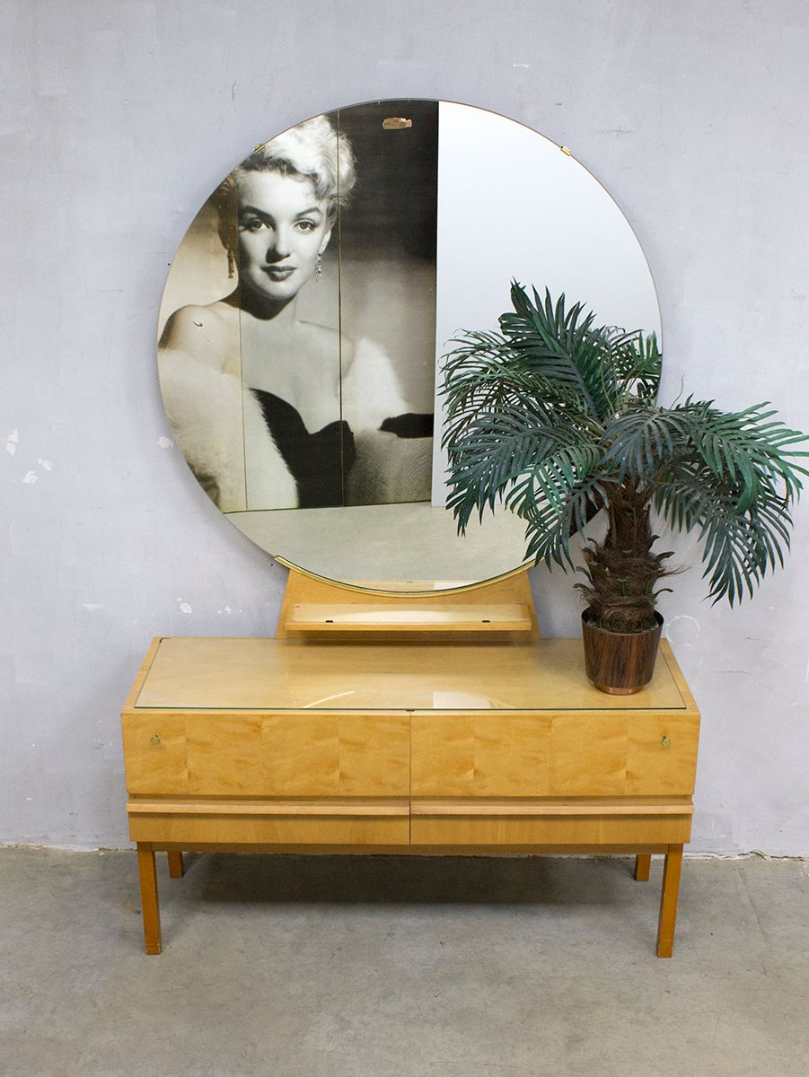 Vintage Vanity Table, 1960s