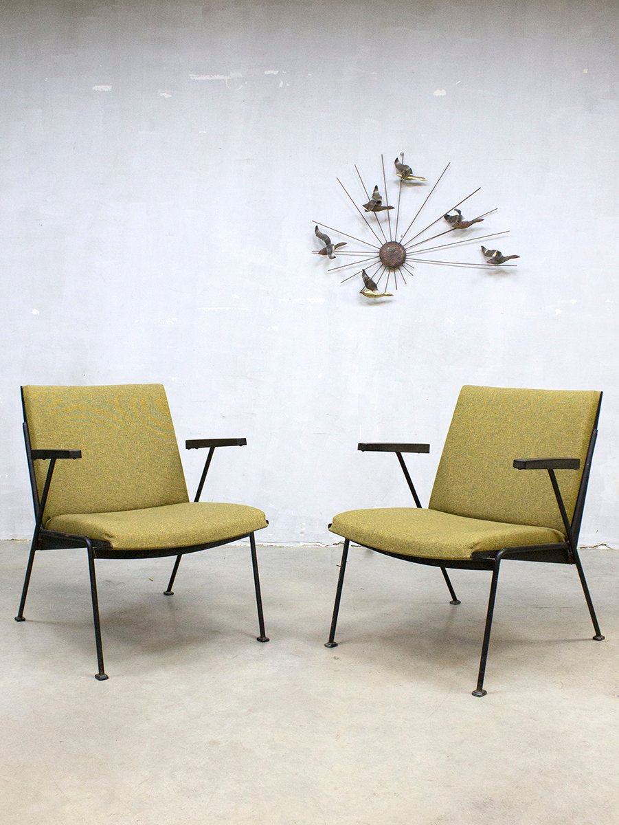 Vintage Dutch Oase Lounge Chair By Wim Rietveld For Ahrend