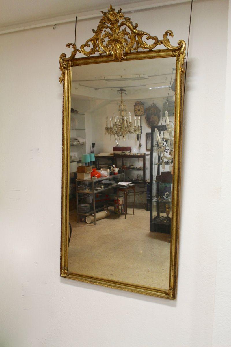 gro er spanischer antiker spiegel bei pamono kaufen. Black Bedroom Furniture Sets. Home Design Ideas