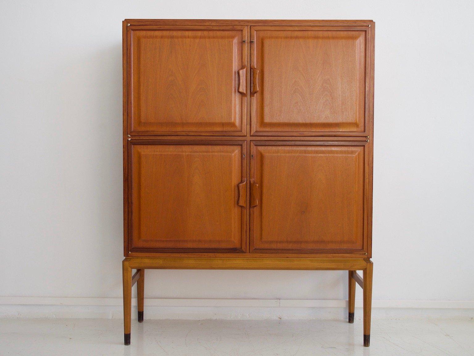 meuble scandinave en acajou par axel larsson pour bodafors 1960s en vente sur pamono. Black Bedroom Furniture Sets. Home Design Ideas