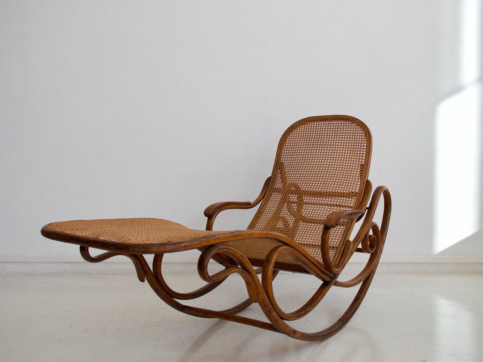 Antiker modell 7500 schaukelstuhl von thonet bei pamono kaufen for Thonet schaukelstuhl