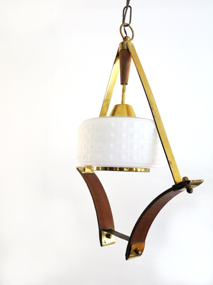 Italian suspension lamp 1950s for sale at pamono for Suspension 4 lampes