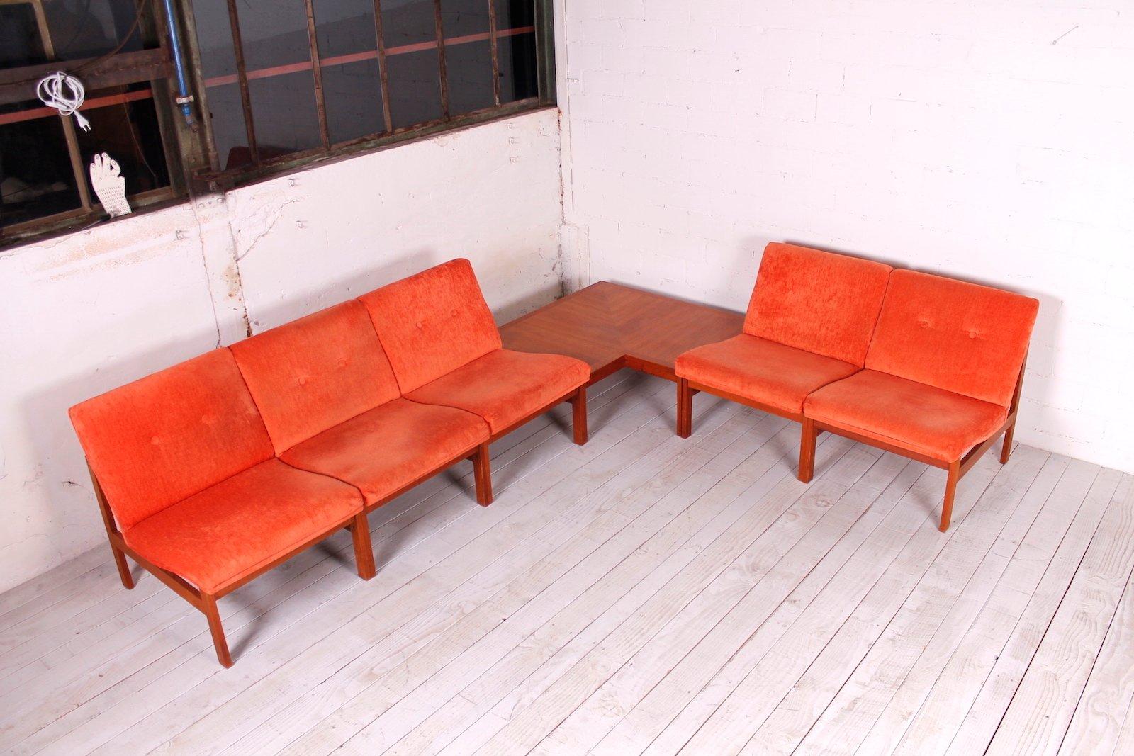 modular sofa by ole gjerl v knudsen torben lind for france s n 1960s for sale at pamono. Black Bedroom Furniture Sets. Home Design Ideas