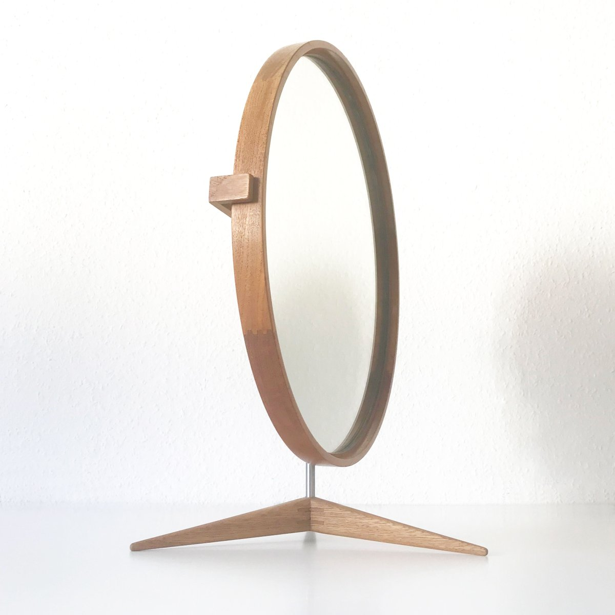 Large Table Mirror By Östen U0026 Uno Kristiansson For Luxus, 1960s