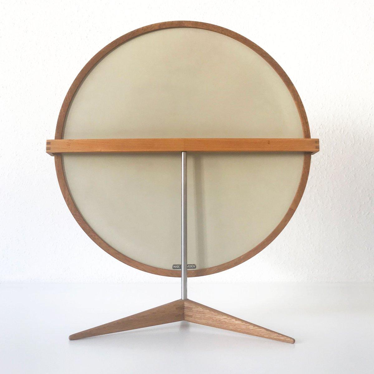 gro er tischspiegel von sten uno kristiansson f r luxus 1960er bei pamono kaufen. Black Bedroom Furniture Sets. Home Design Ideas