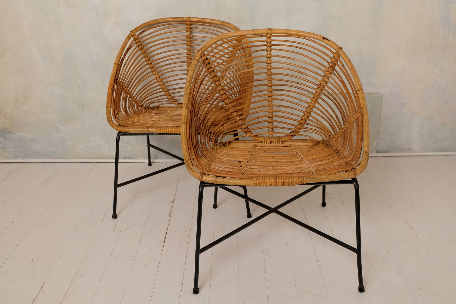 German Garden Furniture German rattan garden chairs 1960s set of 2 for sale at pamono german rattan garden chairs 1960s set of 2 workwithnaturefo
