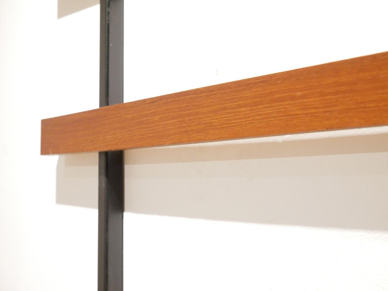 deutsche teak garderobe von zier form 1960er bei pamono. Black Bedroom Furniture Sets. Home Design Ideas