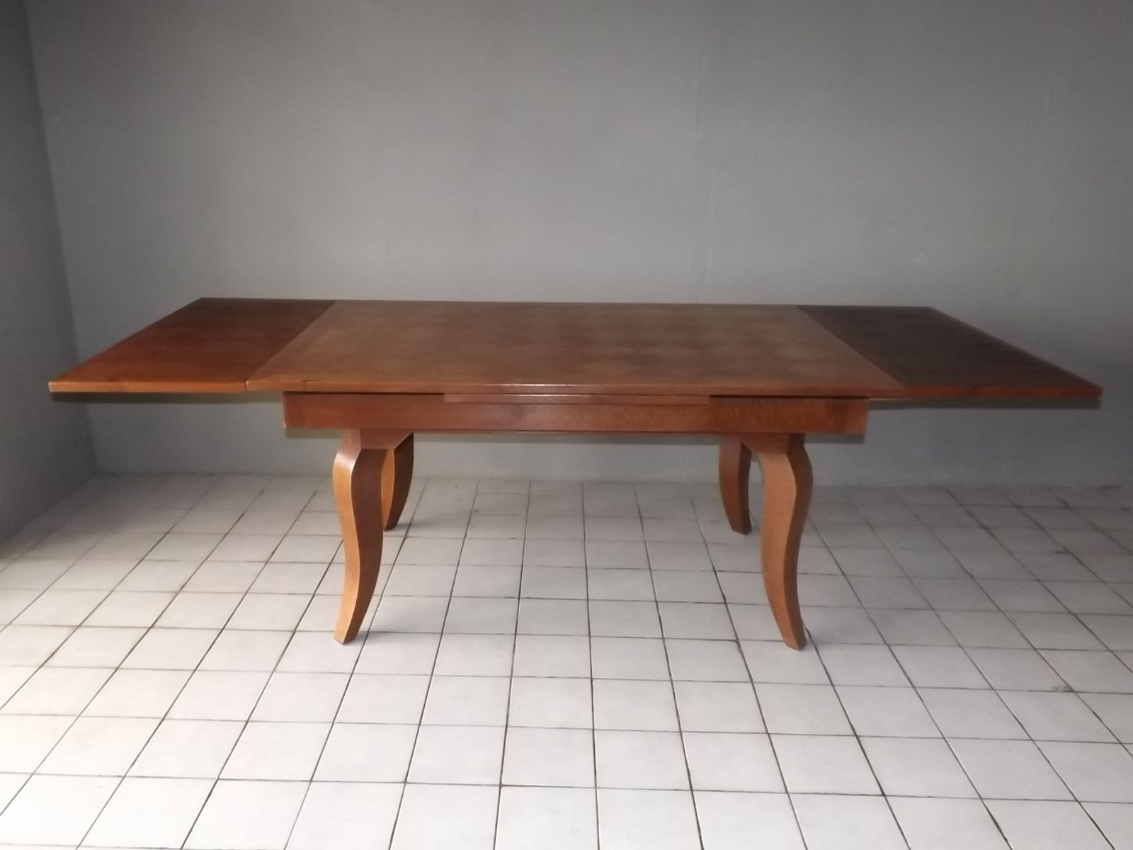 Oak art deco table by gaston poisson 1940s for sale at pamono for 1 oak nyc table prices