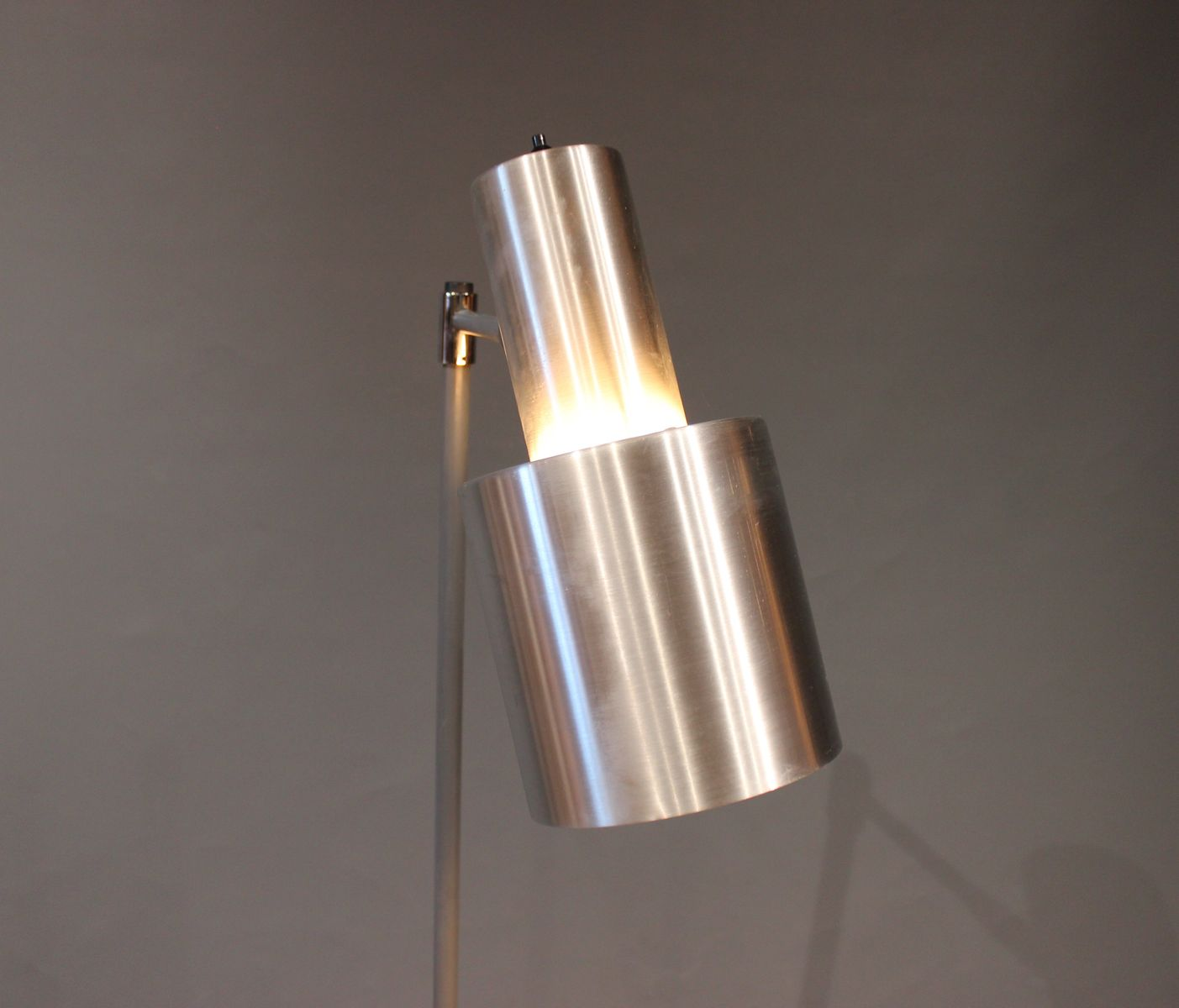 Large mid century studio model stainless steel floor lamp by jo large mid century studio model stainless steel floor lamp by jo hammerborg aloadofball Image collections
