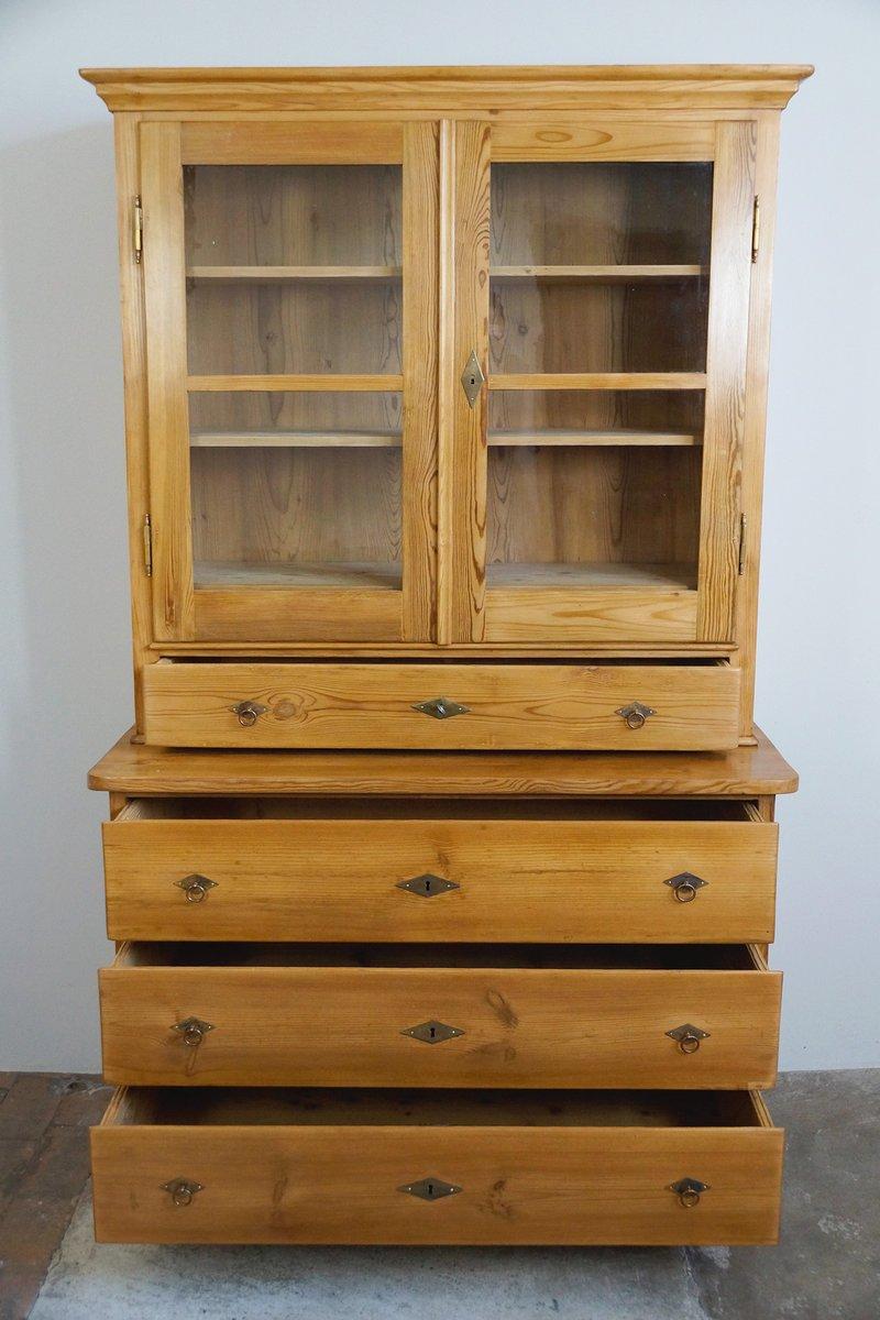 biedermeier k chenschrank 1830er bei pamono kaufen. Black Bedroom Furniture Sets. Home Design Ideas