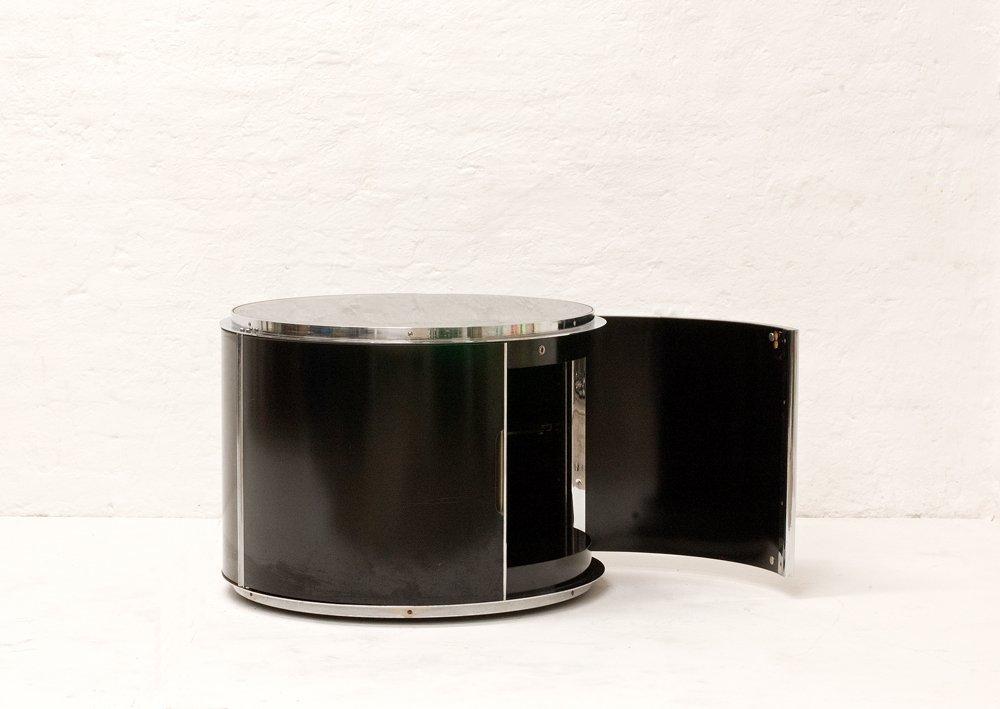 vintage barschrank auf rollen von sergio mazza giuliana gramigna f r cinova bei pamono kaufen. Black Bedroom Furniture Sets. Home Design Ideas