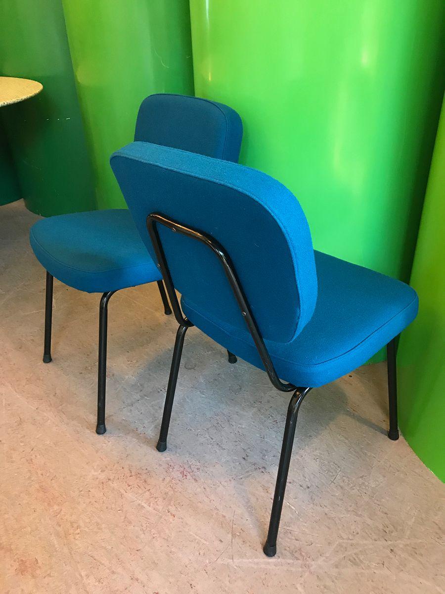 cm196 st hle von pierre paulin f r ton 1960er 2er set. Black Bedroom Furniture Sets. Home Design Ideas