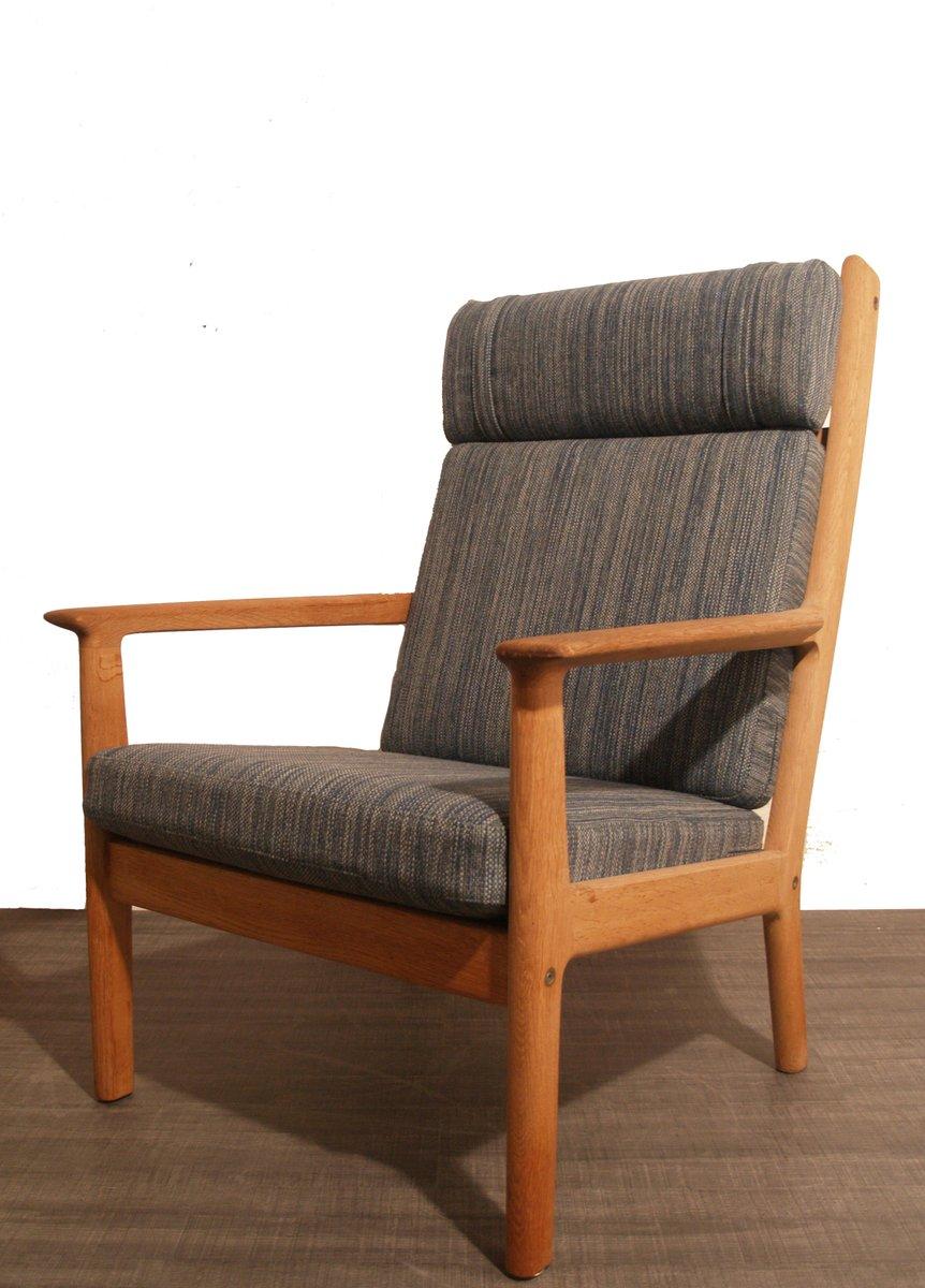 d nischer mid century ge265 sessel von hans j wegner f r. Black Bedroom Furniture Sets. Home Design Ideas