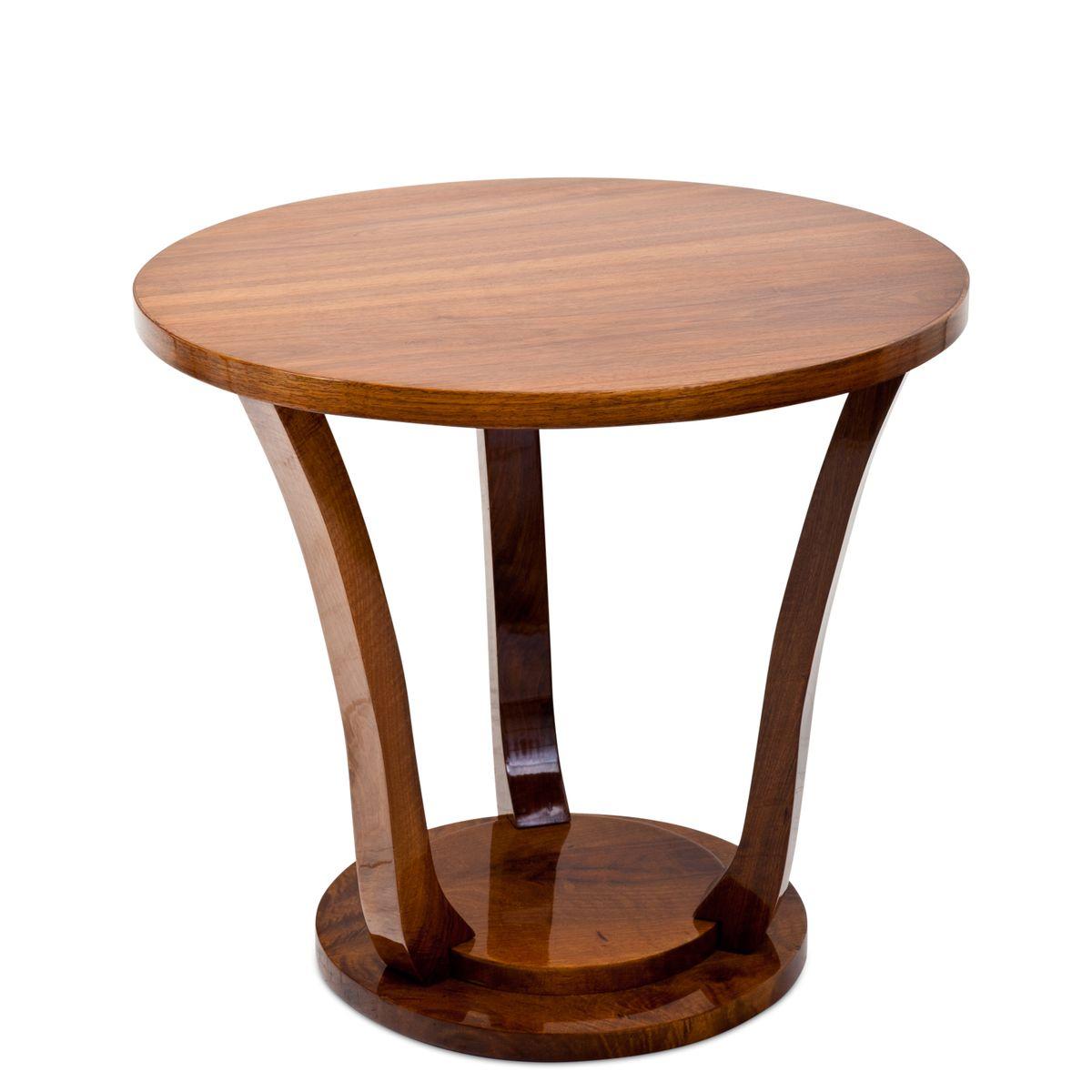art deco beistelltisch 1920er bei pamono kaufen. Black Bedroom Furniture Sets. Home Design Ideas