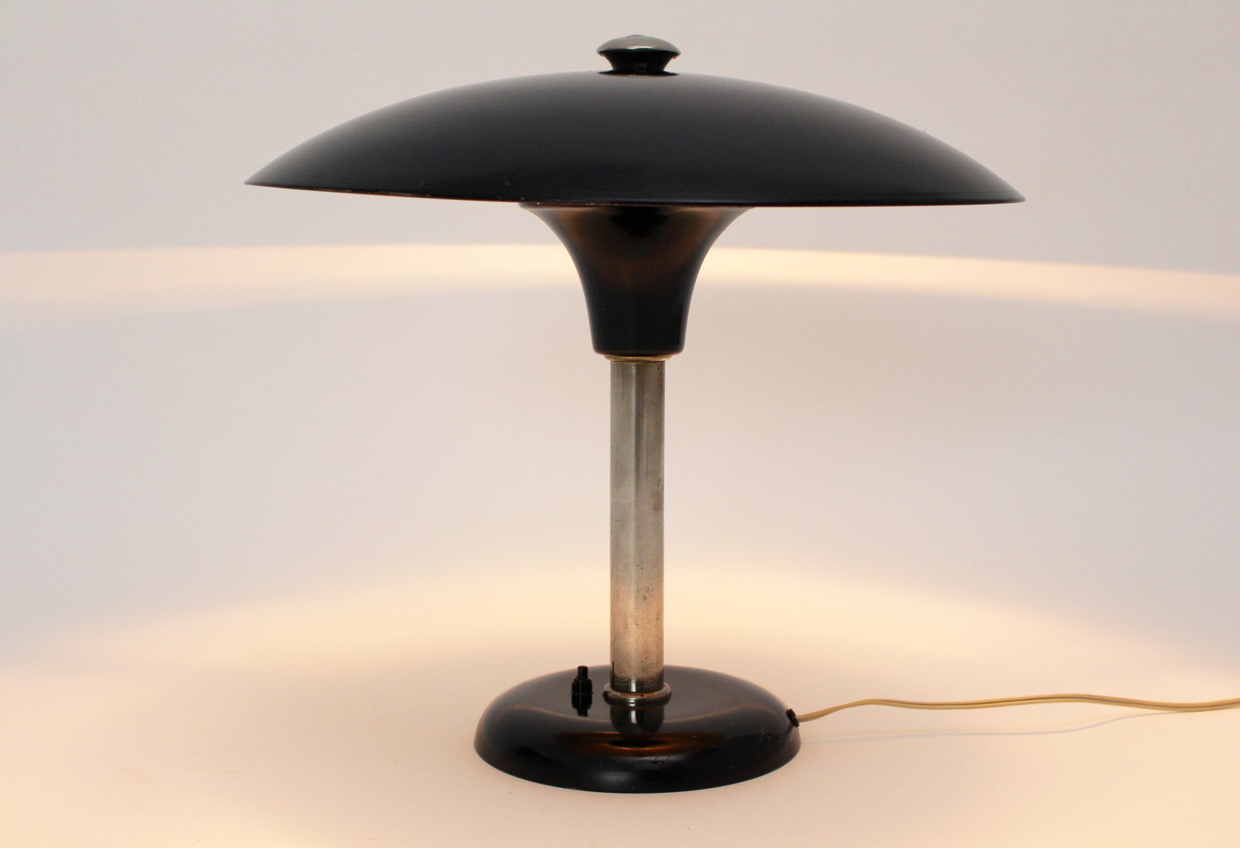 Art Deco Table Lamp By Max Schumacher For Werner Schroeder 1934
