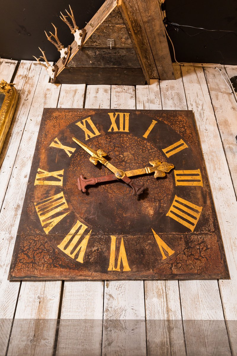 Antique Tower Clock For Sale At Pamono