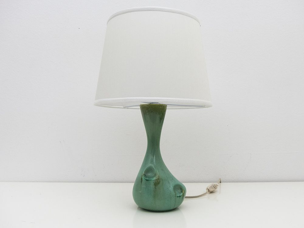 barn c products espresso pottery courtney lamp table ceramic base