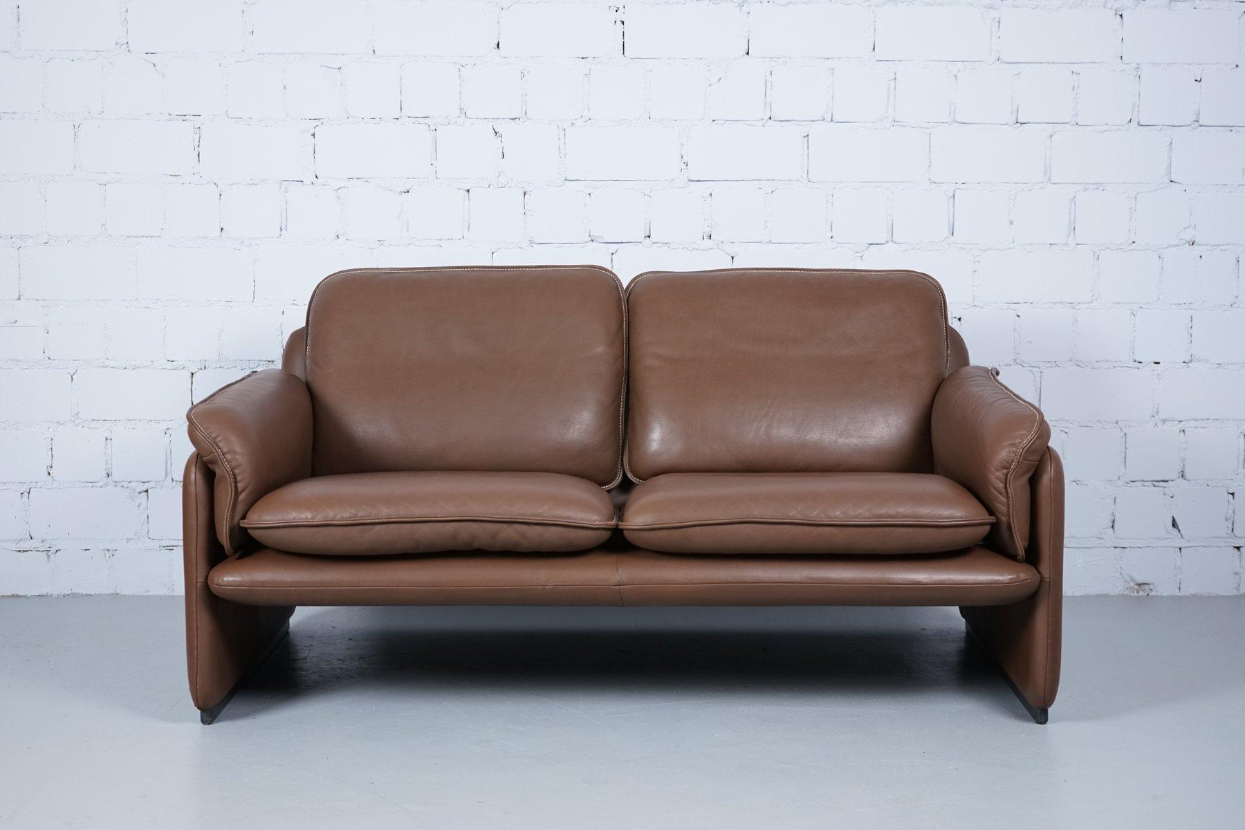 modell ds61 2 sitzer sofa sessel von de sede 1960er. Black Bedroom Furniture Sets. Home Design Ideas