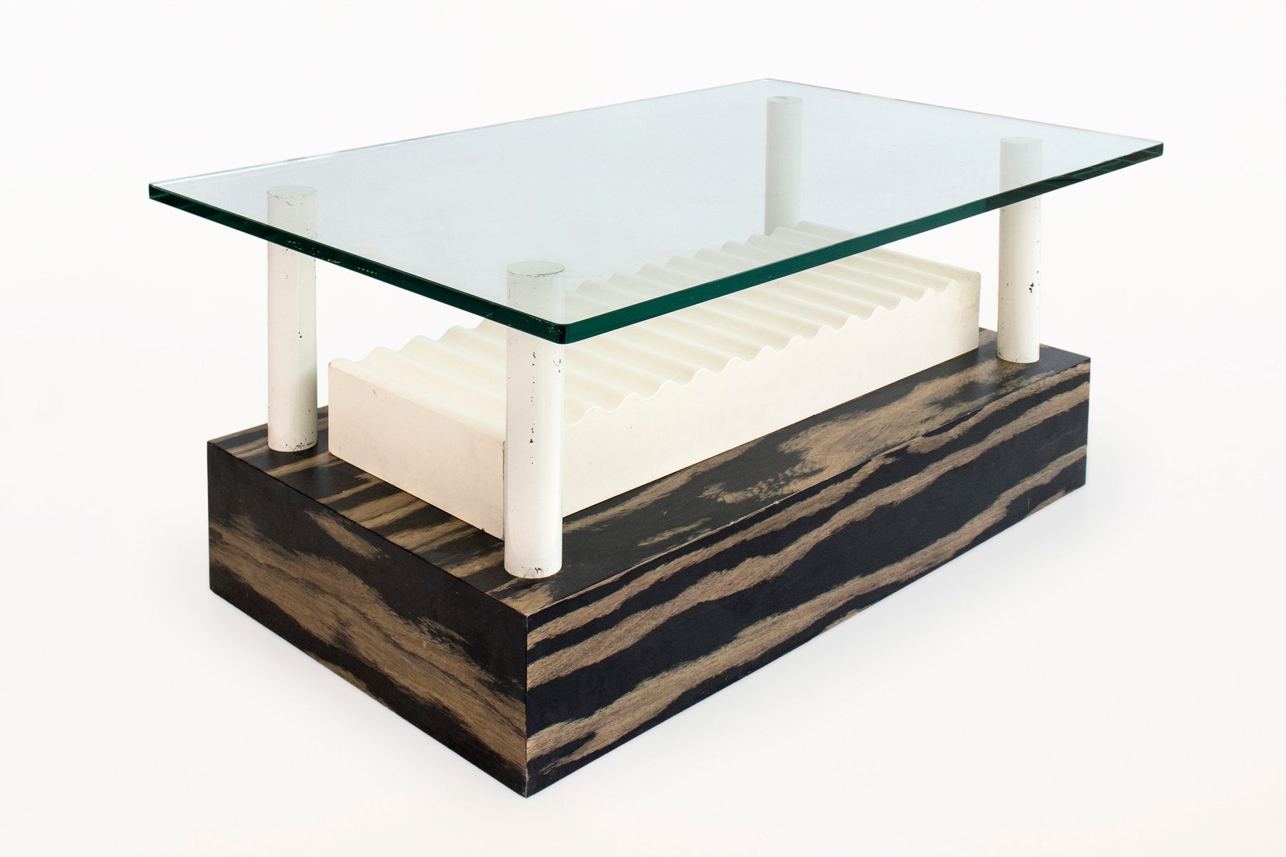 italienischer vintage memphis milano couchtisch von ettore sottsass f r alessi 1980er bei. Black Bedroom Furniture Sets. Home Design Ideas