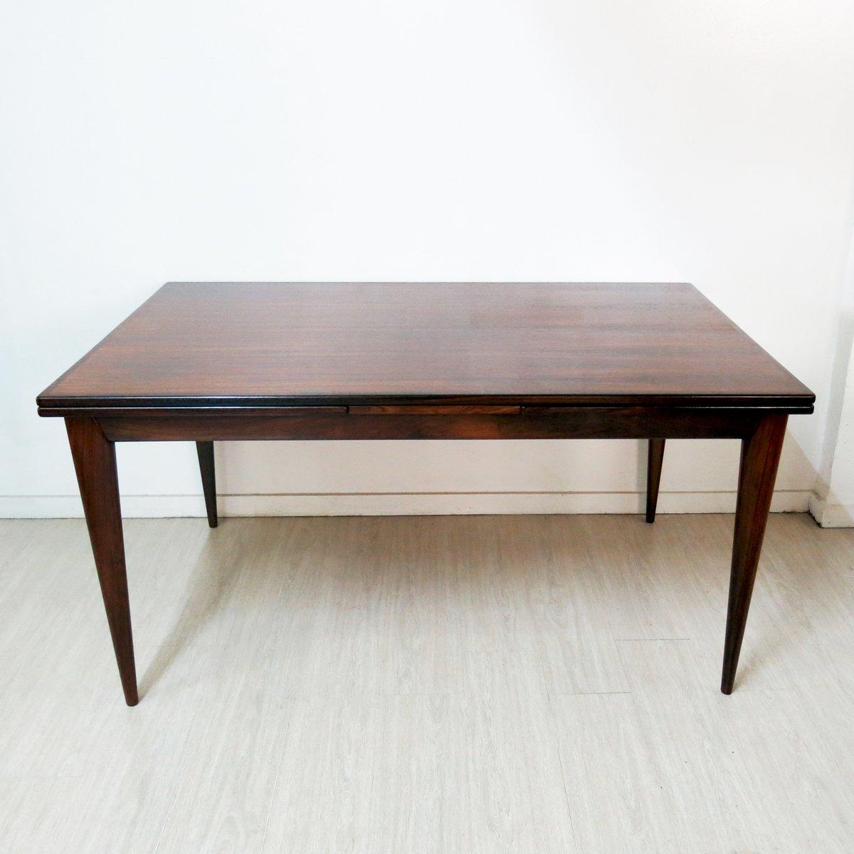 modell 12 palisander esstisch von niels o m ller f r j l m ller m belfabrik 1960er bei pamono. Black Bedroom Furniture Sets. Home Design Ideas