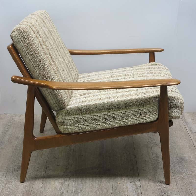 Mid Century Scandinavian Armchair, 1950s For Sale At Pamono