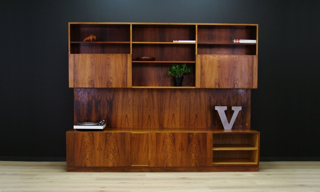 d nisches teak regal system von ib kofod larsen f r faarup m belfabrik 1960er bei pamono kaufen. Black Bedroom Furniture Sets. Home Design Ideas